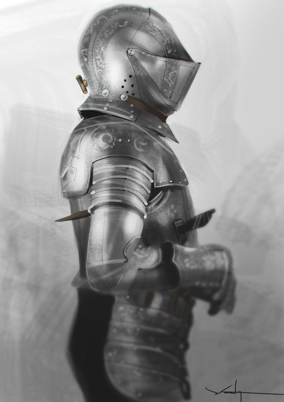 Knight Armour Study by waLek05