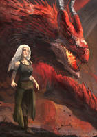 Mother of Dragons by waLek05