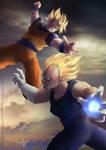 Goku v Majin Vegeta