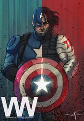 Captain America - Winter Soldier by waLek05