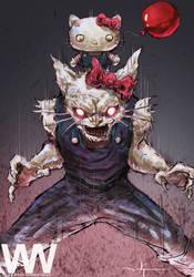 Hello Kitty Beast Mode by waLek05
