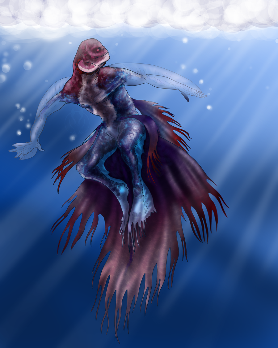Fish that looks like a mermaid 10