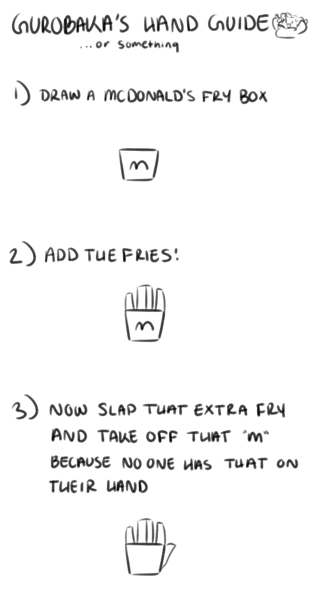 hand tutorial?? or something by gurobaka