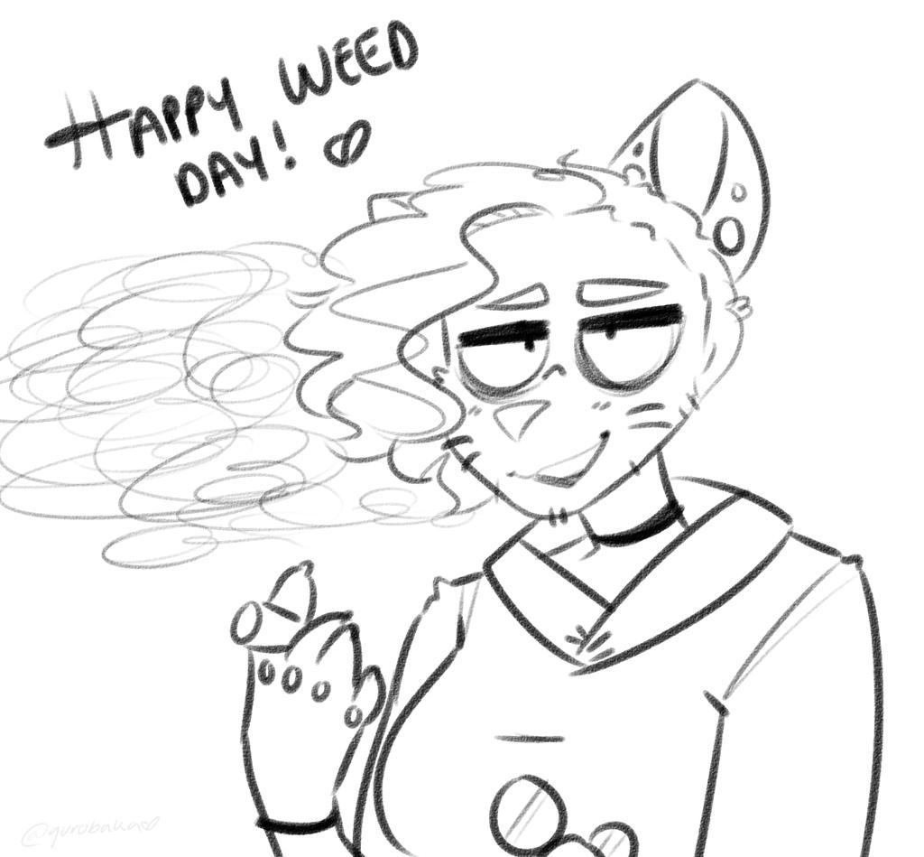 happy weed days, u stoners by gurobaka