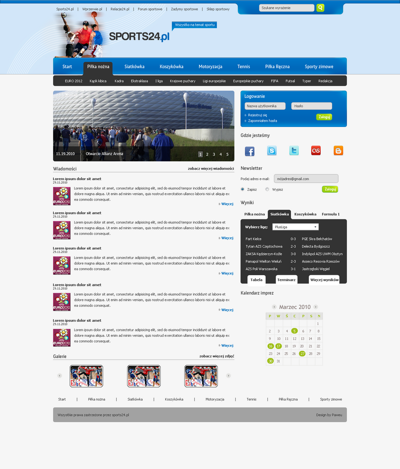 sport portal