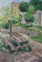 Public bench by kya-azar