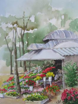 Flower-stall