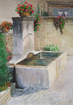 A Fontaine, Provence.