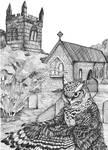 Owlman of Mawnan