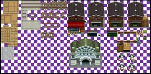 Shippou City Exterior Tiles