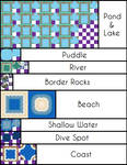 B-W Water Tiles