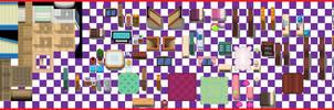Random Interiors Tileset