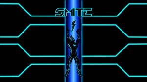Smite/Tron Wallpaper