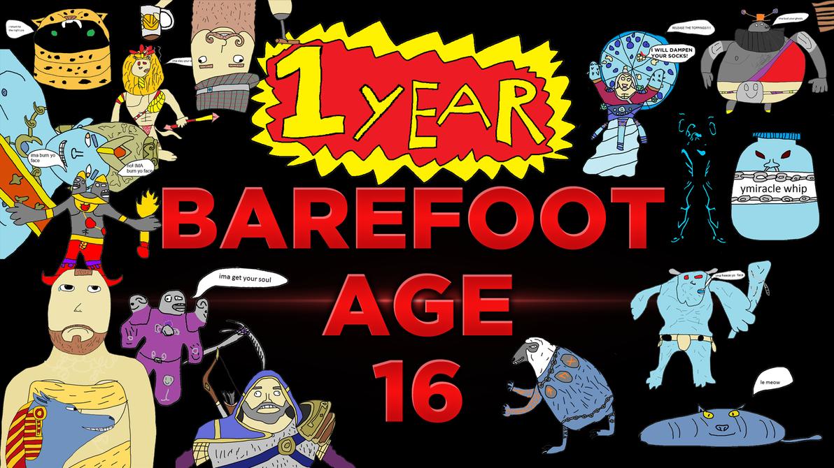 1 Year by BarefootDesign
