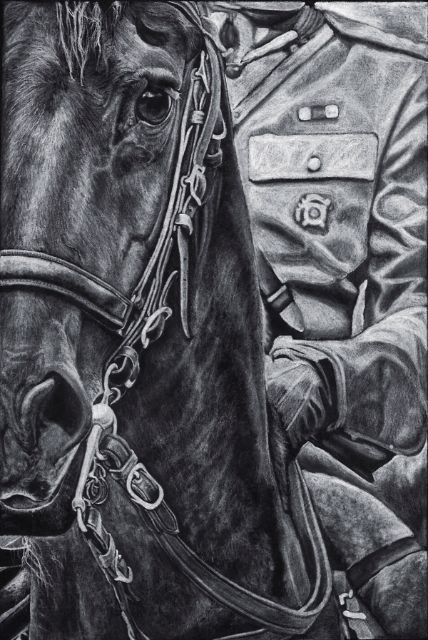 Off To War - traditional by Pencil--Pony