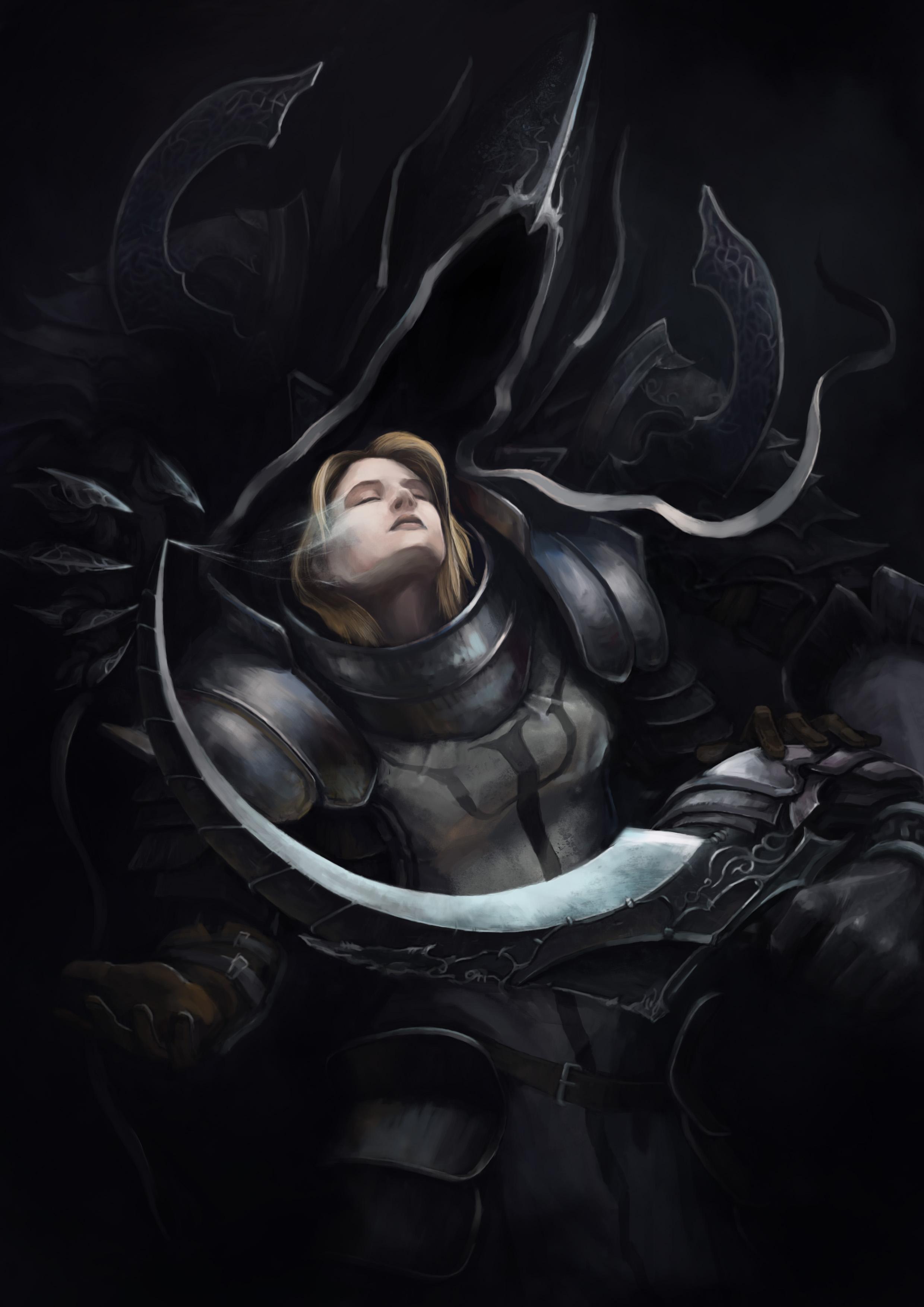 reaper of souls by MerrymindAndStivka