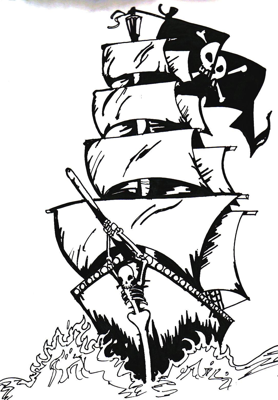 Pirate Ship by Evergreen-Academy on DeviantArt