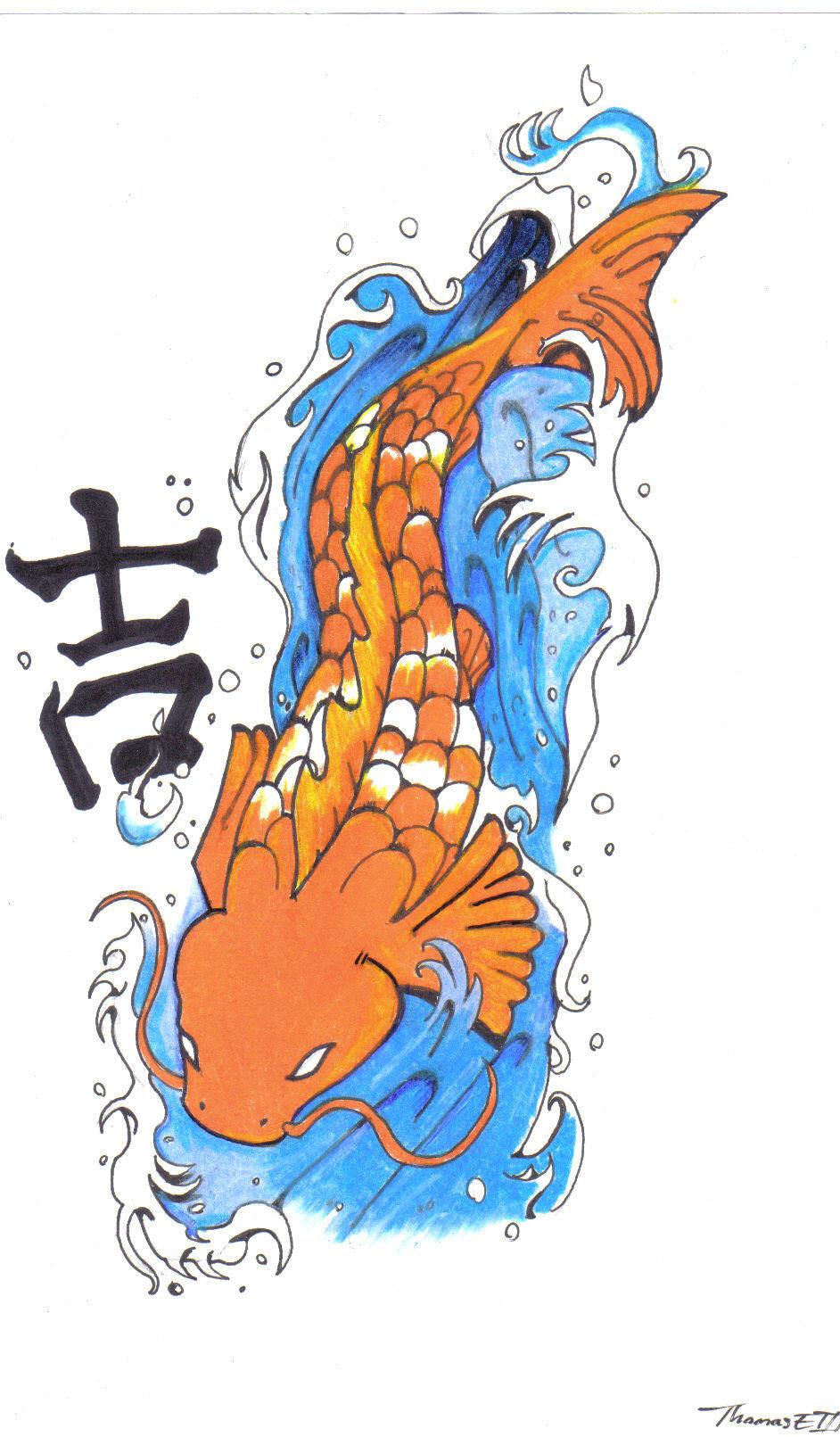 Good luck koi by evergreen academy on deviantart for Koi fish good luck