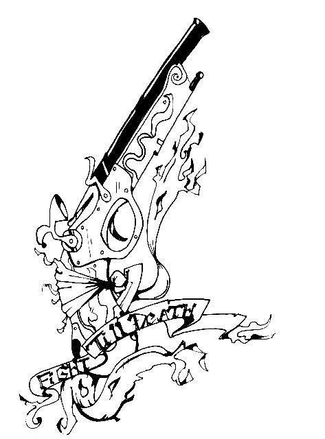 pistol tattoos