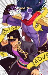 Bizarre Adventure by redtiebear