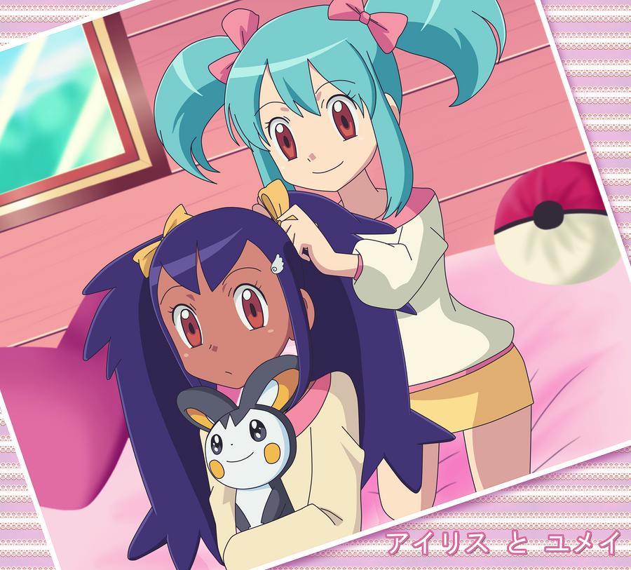 Pokemon dawn and iris