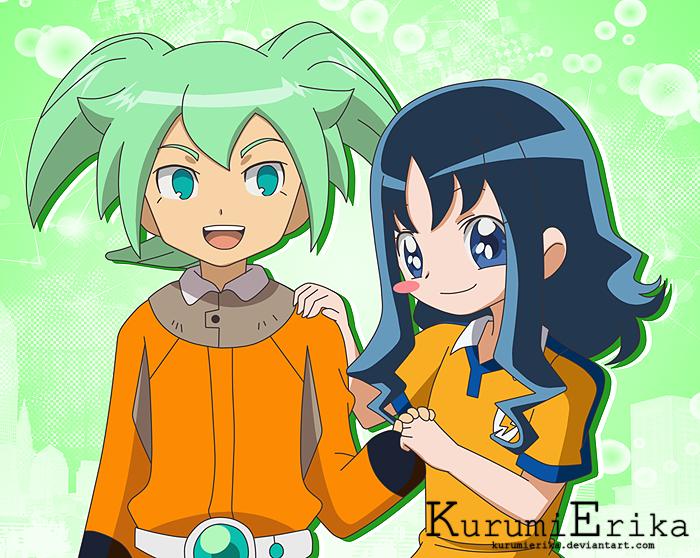 Fei Rune And Kurumi Erika by KurumiErika