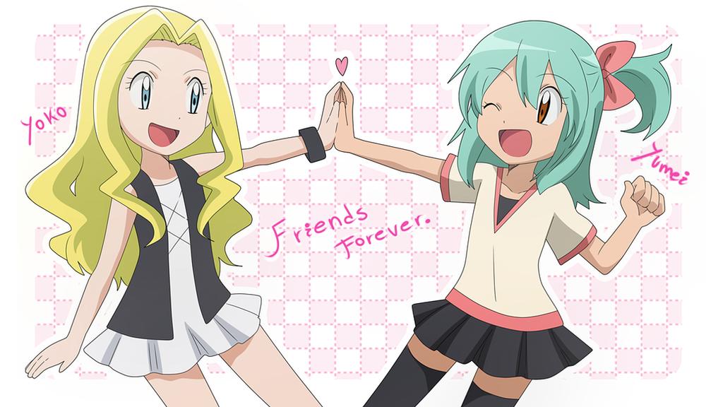 Yumei and Yoko childhood by KurumiErika