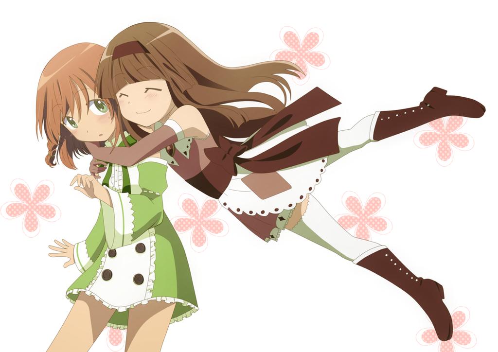 Yumi and Sumomo by KurumiErika
