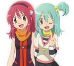 Mikki and Yumei