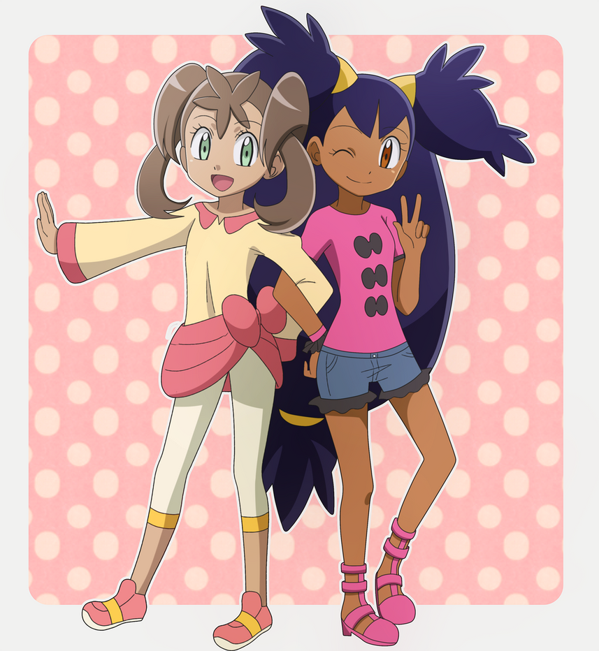 Sana and Iris ~ by KurumiErika