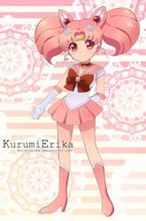Sailor Chibi moon by KurumiErika