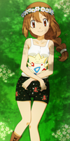 CM: Miss-pichu ~ Reesa and her Togepi doll ~
