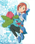 CM: Shelly131 ~ Miriam and Ivysaur by KurumiErika
