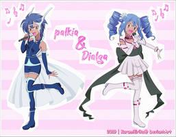 CN: Kazimo ~ Palkia and Dialga