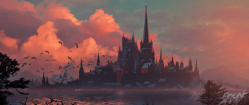 Medieval Town by ebalint96