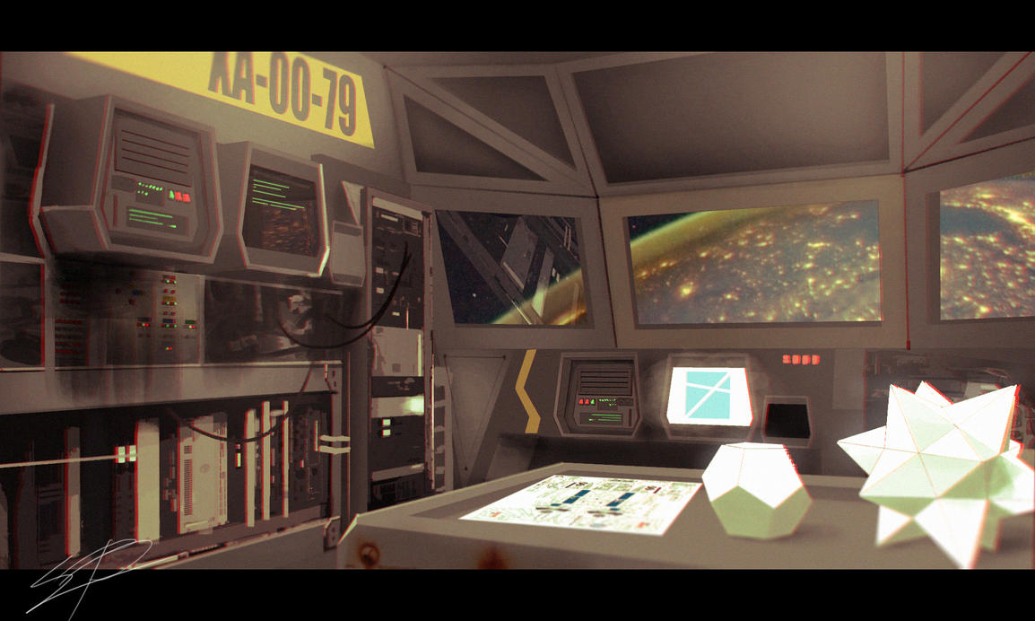 Spaceship Interior Concept By Ebalint96 ...