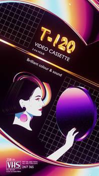 VHS cover design