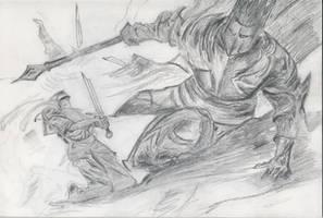 Sauron by Deathseeker101