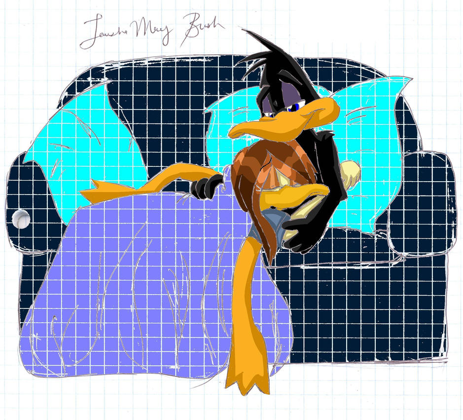 Daffy and Tina cuddle Request Daffy Duck And Tina Duck
