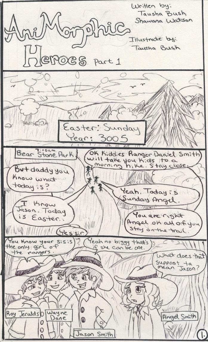 AniMorphic Heroes pg. 1 by LoonataniaTaushaMay