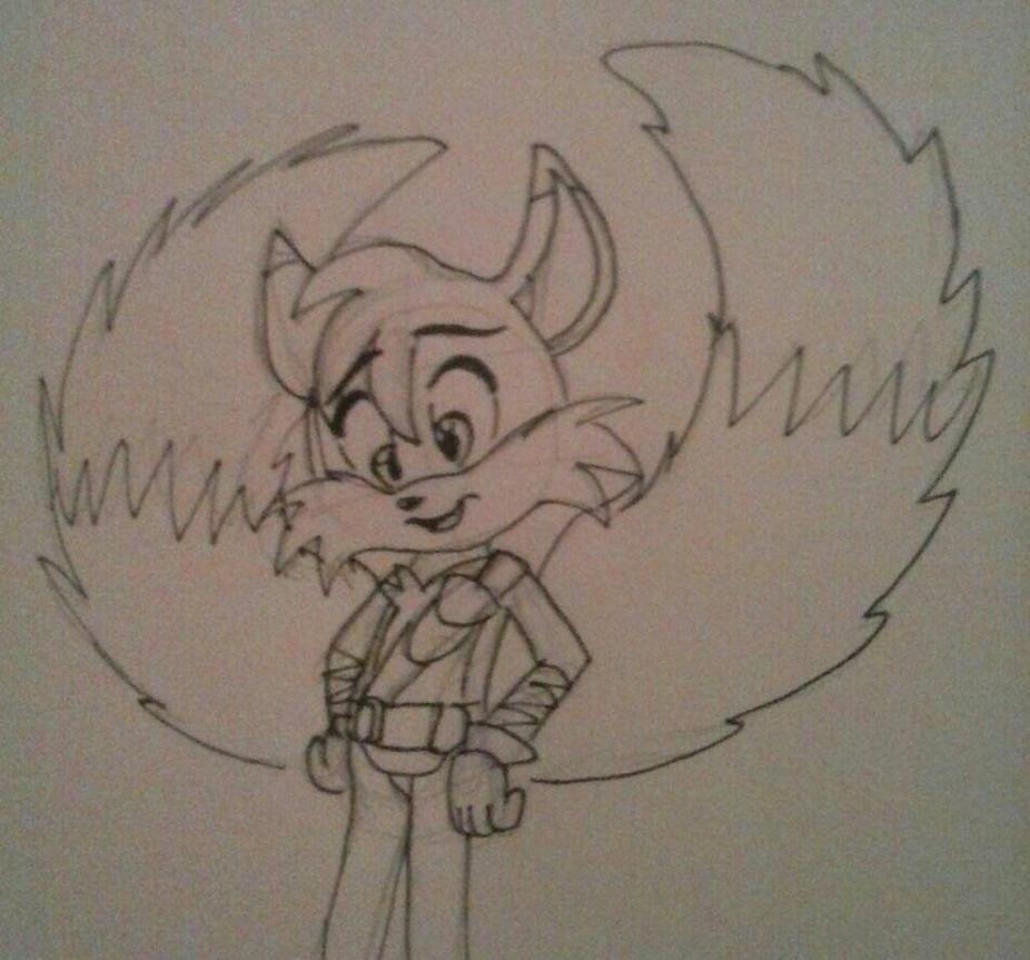 Tails_Sonic XD_New Design by LoonataniaTaushaMay