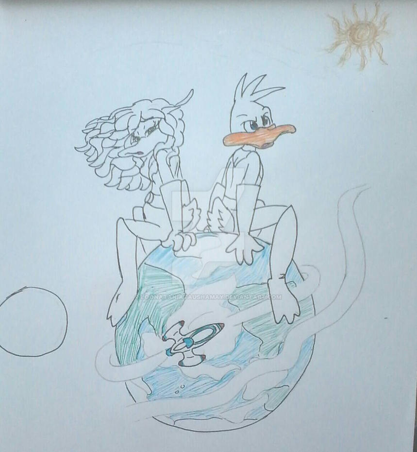 Duck Dodgers_Fighters of the Universe_C. Ducks by LoonataniaTaushaMay