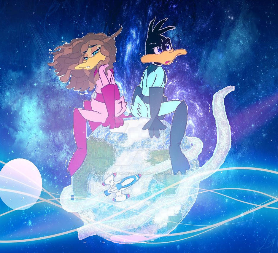 Protecters of the Universe_Duck Dodgers by LoonataniaTaushaMay