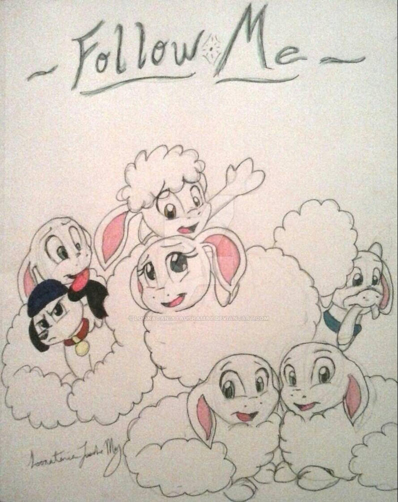 Follow Me_Baby Shaun the Sheep and Friends by LoonataniaTaushaMay