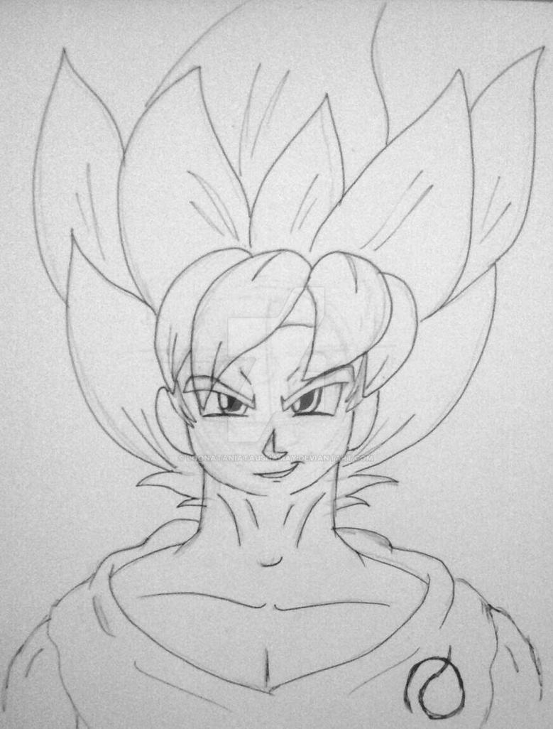 Goku SSG2 Blue by LoonataniaTaushaMay