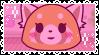 Retsuko! Stamp by Aesthetic-Peachille