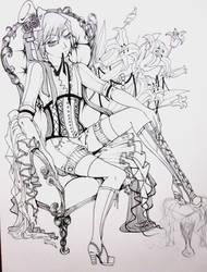 Ciel sketch by BerryKuro