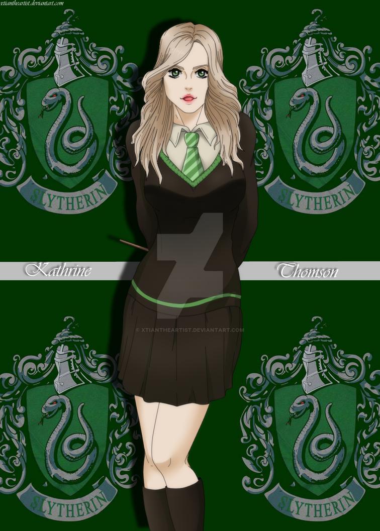 Harry Potter OC - Kathrine Thomson by XtianTheArtist on DeviantArt