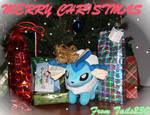 Vaporeon Christmas Gift by Tails230