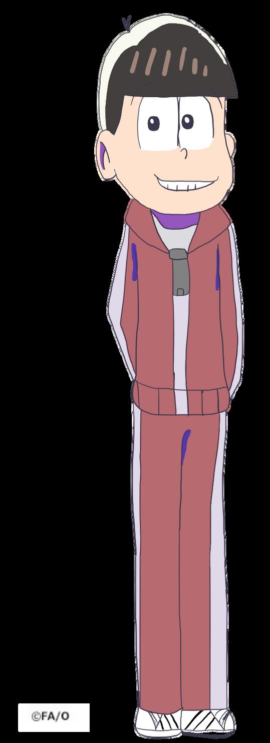 Osomatsu San Season 2 Osomatsu With New Outfits by isidoragames25